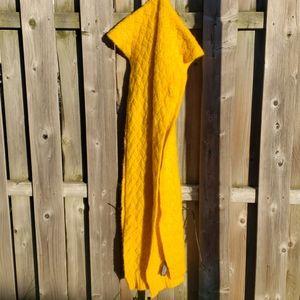 💛Zara mustard yellow blanket
